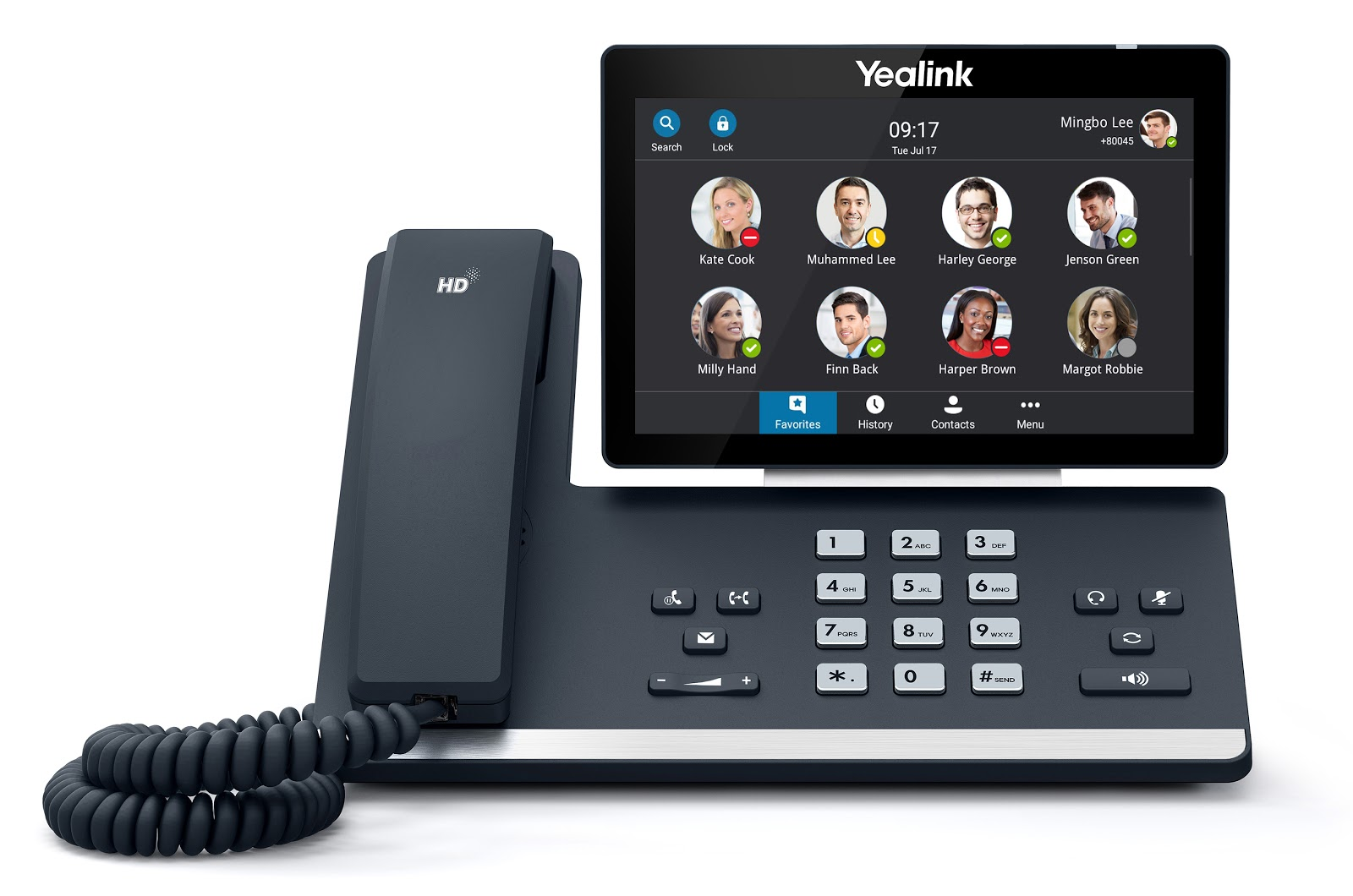 Điện thoại Yealink IP SIP-T58A Skype For Business