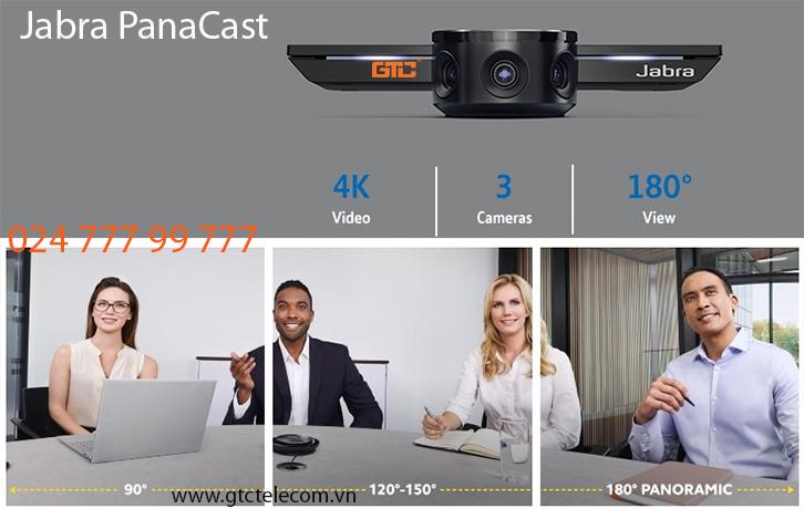 Camera hội nghị Jabra PanaCast giải pháp chất lượng video cho phòng họp sắc nét