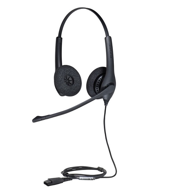 Jabra Biz 1100 Duo QD headphones