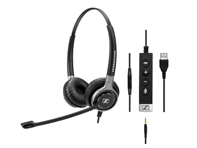 Sennheiss SC 60 USB ML Headphones