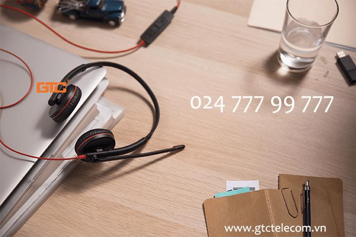 Plantronics Blackwire C3220 USB-C tai nghe lý tưởng cho dân văn phòng