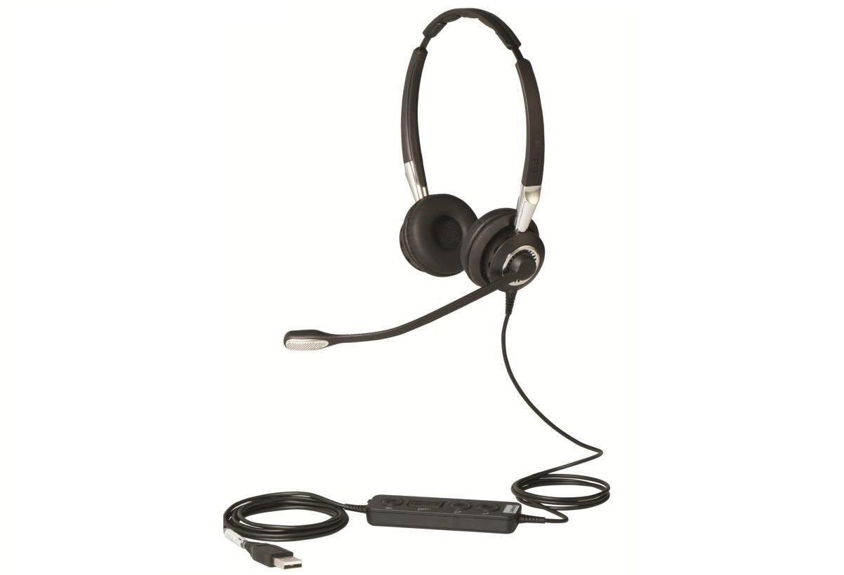 Headset Jabra Biz 2400 II USB Duo BT