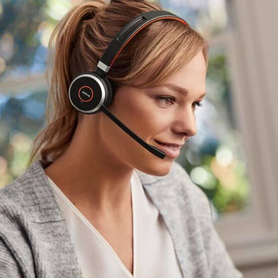 Tai nghe Jabra Evolve 65 lý tưởng cho làm việc online