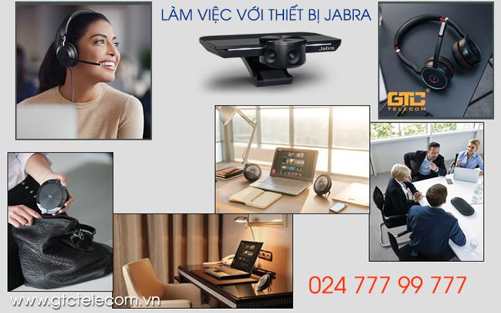 Làm việc từ xa hay ở nhà với thiết bị Jabra được nhiều người lựa chọn
