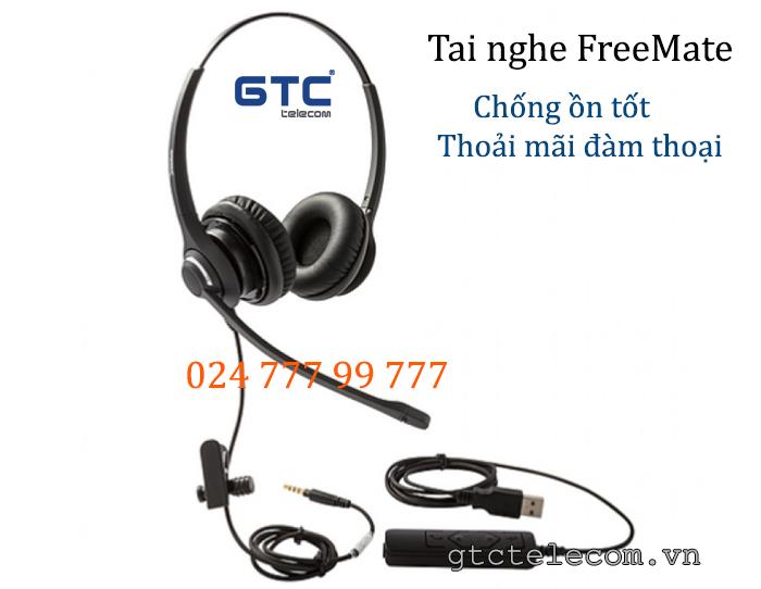 Tai nghe học trực tuyến FreeMate của Hàn Quộc, giá rẻ, chất lượng tiêu chuẩn HD